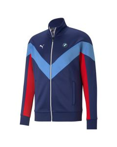 Shop Puma BMW M Motorsport MCS Track Jacket Mens Blue at Studio 88 Online
