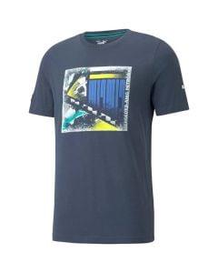 Shop Puma Mercedes AMG Petronas F1 Graphic T-shirt Mens Spellbound at Studio 88 Online