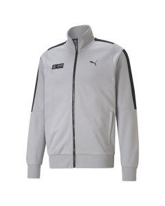 Shop Puma Mercedes F1 T7 Sweat Jacket Mens Team Silver at Studio 88 Online