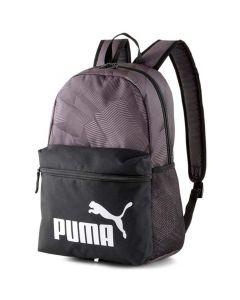 Shop Puma Phase AOP Backpack Black Grey at Studio 88 Online
