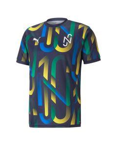 Shop Puma Neymar Jr Future Printed Football Jersey Youths Navy at Studio 88 Online