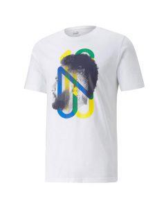 Shop Puma Neymar Jr. Future Football Youth T-Shirt White at Studio 88 Online