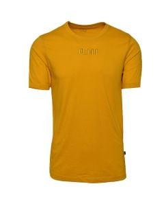 Shop Puma Modern Basics T-shirt Mens Mineral Yellow at Studio 88 Online
