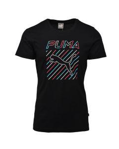 Shop Puma Slim Fit T-shirt Mens Black at Studio 88 Online
