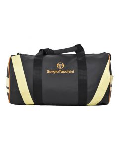 Shop Sergio Tacchini Summer Fresh Duffel Bag Anthracite Lemon Meringue at Studio 88 Online