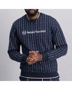 Shop Sergio Tacchini Pin Stripe Sweatshirt Men Night Sky at Studio 88 Online