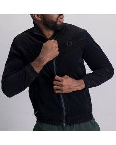 Shop Sergio Tacchini Corduroy Jacket Mens Black Night Sky at Studio 88 Online
