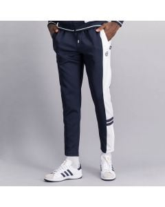 Shop Sergio Tacchini Panelled Track Pants Mens Night Sky White at Studio 88 Online