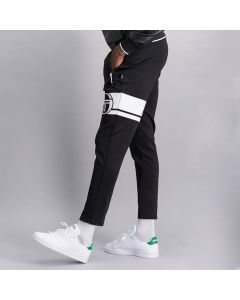 Shop Sergio Tacchini Printed Track Pants Men Anthracite Black at Studio 88 Online