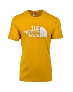 Shop The North Face Easy T-shirt Mens Arrow Wood Yellow at Studio 88 Online