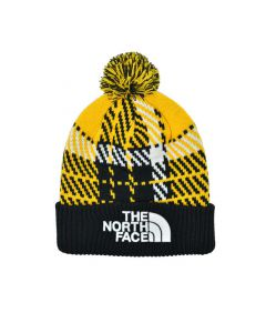 Shop The North Face Retro Pom Beanie Gold at Studio 88 Online
