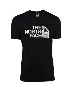 Shop The North Face Woodcut Dome T-shirt Mens Black at Studio 88 Online