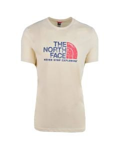 Shop The North Face Rust Vintage 2 T-Shirt Mens White at Studio 88 Online
