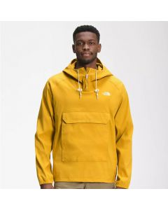 Shop The North Face Class V Fanorak Pullover Jacket Mens ArrowWood Yellow at Studio 88 Online