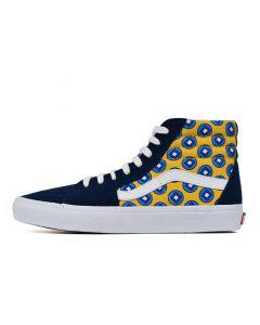 Shop Vans SK8-Hi Mens Sneaker Dress Blue Yellow Red Multi at Studio 88 Online
