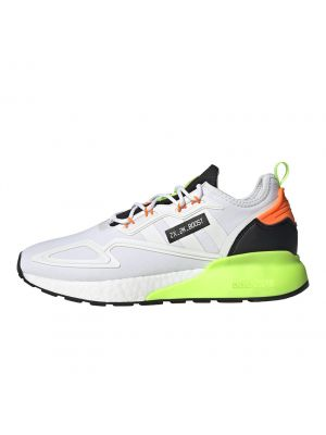 Shop adidas Originals ZX 2K Boost Mens Sneaker White Green Black at Studio 88 Online