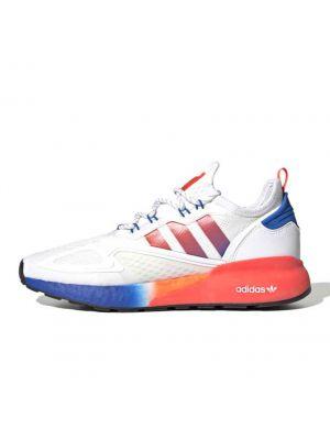 Shop adidas Originals ZX 2K Boost Sneaker Mens Solar Red Blue at Studio 88 Online