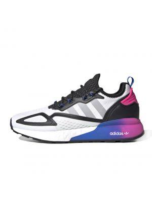 Shop adidas Originals ZX 2K Boost Sneaker Mens Cloud White Grey Two at Studio 88 Online