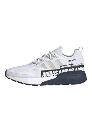 Shop adidas Originals ZX 2K Boost Sneaker Mens White Collegiate Navy at Studio 88 Online