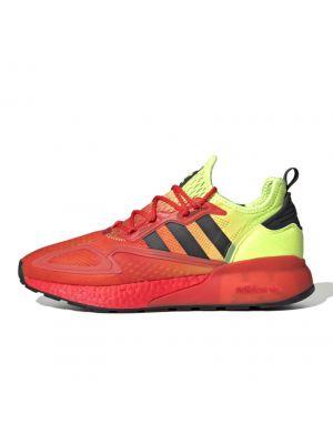 Shop adidas Originals ZX 2K Boost Mens Sneaker Solar Yellow Hi-Res Red at Studio 88 Online
