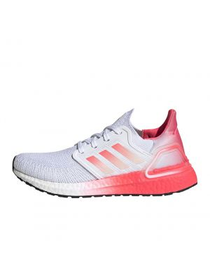 Shop adidas Performance Ultraboost 20 Sneaker Womens Ftwr White Signal Pink at Studio 88 Online
