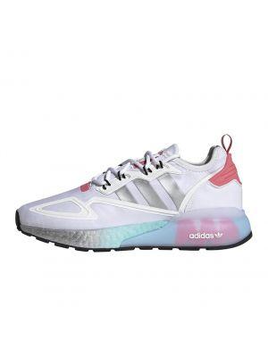 Shop adidas Originals ZX 2K Boost Womens Sneaker White Silver Hazy Rose at Studio 88 Online