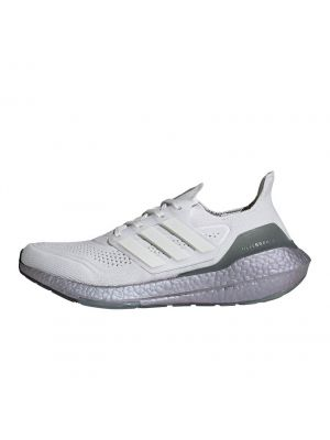 Shop adidas Performance Ultra Boost Mens Sneaker 21 Crystal White Hazy Green at Studio 88 Online