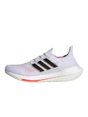 Shop adidas Performance Ultraboost 21 Mens Sneaker White Black Solar Red at Studio 88 Online