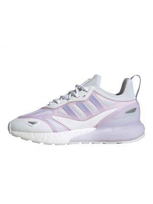 Shop adidas Originals ZX 2K Boost 2.0 Sneaker Womens Cloud White Clear Pink at Studio 88 Online