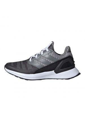 Shop adidas Performance Rapid Run Knit Sneaker Kids Carbon Grey at Studio 88 Online