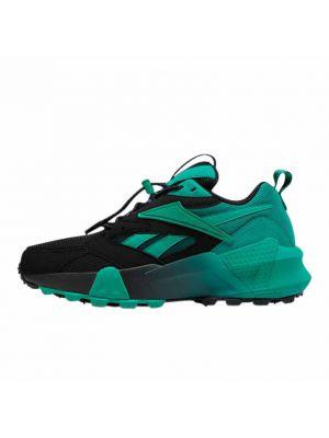 Shop Reebok Aztrek Double Mix Sneaker Mens Black Emerald Regal Purple at Studio 88 Online