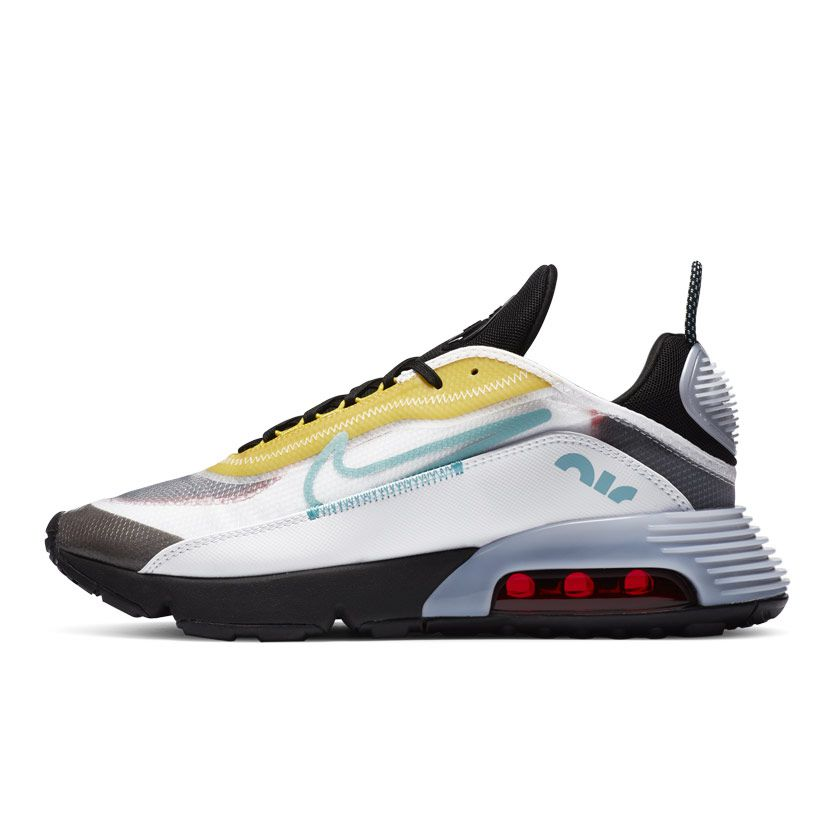 Buy Nike Air Max 2090 Youth Sneaker White Black Speed Yellow ...