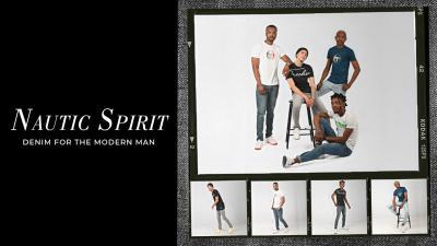 Nautic Spirit - Denim for the Modern Man