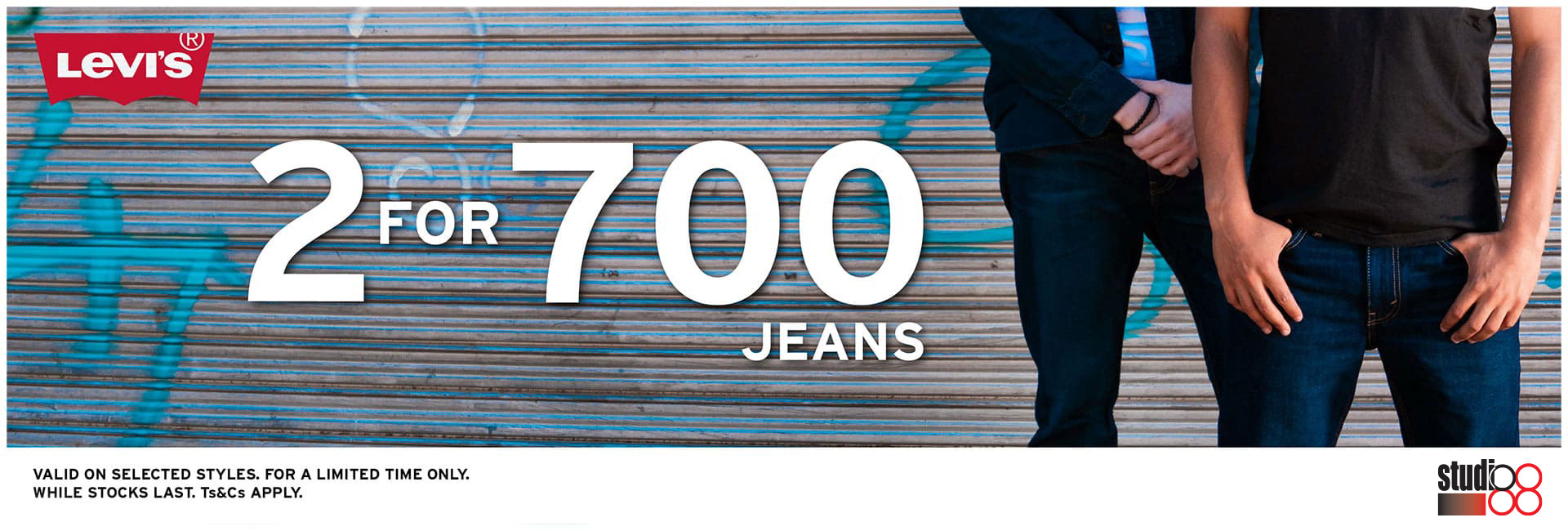 Levi's 2 for R700 Promo