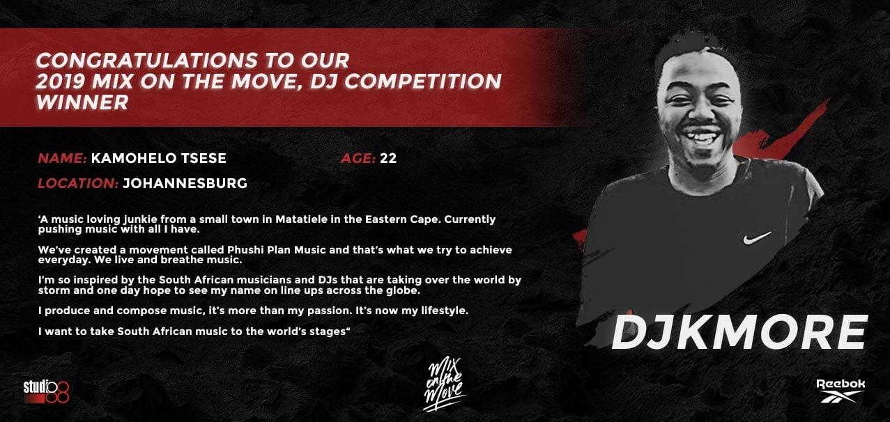 DJ Competition Winner Banner